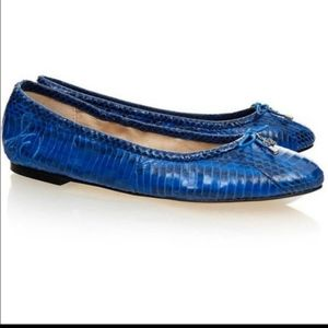 Sam Edelman Felicia Snake Leather Flats